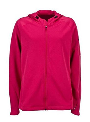 Susan G. Komen For the Cure Running Ribbon Women's Pink Jacket w/Hood KOMELJ0026