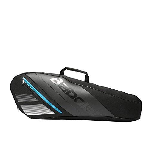 Babolat Team x3 Racquet Bag, Black, One Size 3 Racquet Thermal Tennis Bag