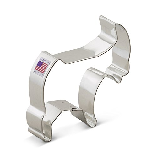 Ann Clark Goat Cookie Cutter - 4 Inches - Tin Plated ()