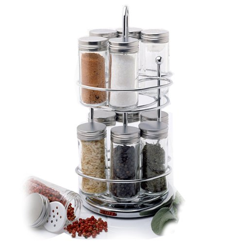Norpro Spice Rack with Rotating Stand