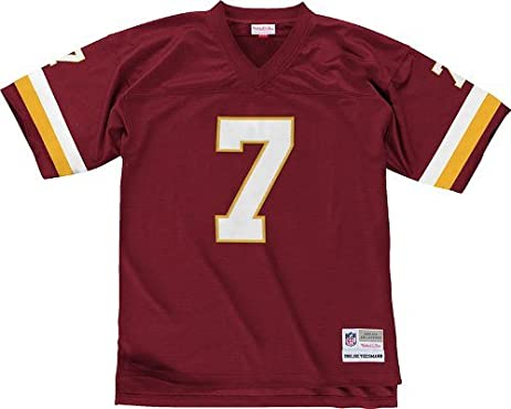 c54d19da4 ... Washington Redskins Mitchell Ness 1982 Joe Theismann 7 Replica  Throwback Jersey .