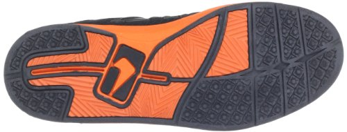 Globe Lift GBLIFT - Zapatillas de cuero unisex Negro (black/orange 10194)