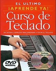 Hal Leonard Aprende Ya! Curso de Teclado (3 Books 3CDS 3 DVDS)