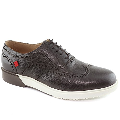 MARC JOSEPH NEW YORK Men's 5th Ave Brown Grainy Oxford Shoes 11.5