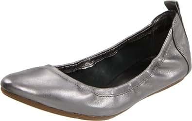 Cole Haan Women's Air Jenni Ballet Flat,Dark Silver Metal,6 B US