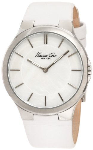 Kenneth Cole New York Women's KC2704 Slim Round Analog MOP Dial Thin Watch