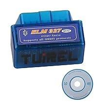 Mini ELM327 Bluetooth V2.1 OBD2 Auto Diagnostic Scanner Tool For ODB2 OBDII Protocols OBDII Auto Diagnostic Tool