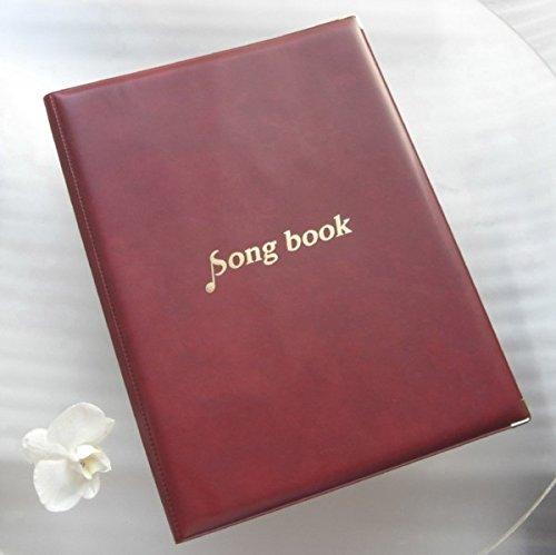 musical score holder Song Book made in Japan, writable (k-red) 41USut7z8rL