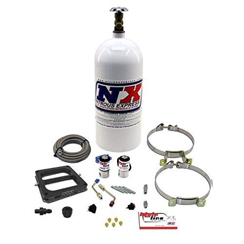 Nitrous Express ML1001 MainLine 4500 5-10 psi Carbureted Plate System with 10 lbs. - System Plate Nitrous