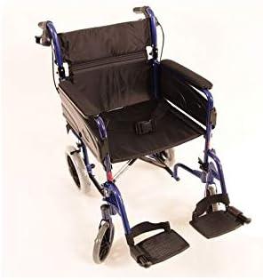 Silla de ruedas Modelo Alu Lite Invacare | ancho del asiento: 40 cm