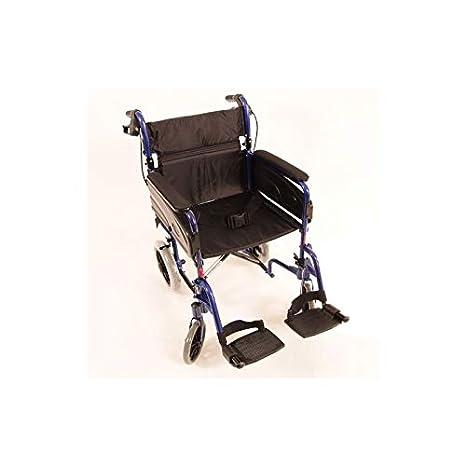 Silla de ruedas Modelo Alu Lite Invacare | ancho del asiento: 45 cm: Amazon.es: Hogar