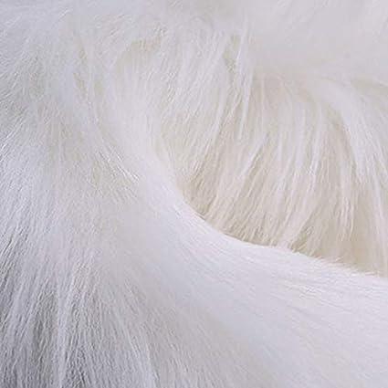 RainBabe Tapis en laine dimitation Tapis en Fausse Fourrure de Luxe Poil Doux pour Maison Canape