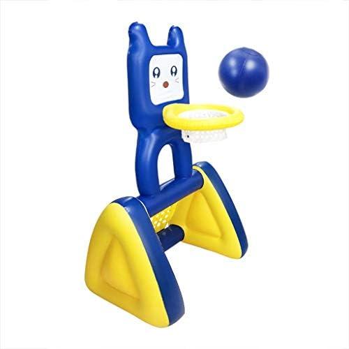 スポットインフレータブル子供のバスケットボールインフレータブルサッカーGateは2-IN-1玩具屋外サッカーバスケットボールラックラックラック