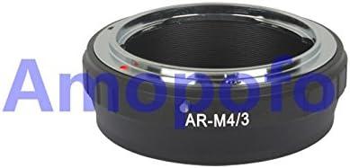 Amopofo AR-M4//3 Adapter Konica AR Mount Lens to Micro Four Thirds M4//3 MFT GH4 OM-D