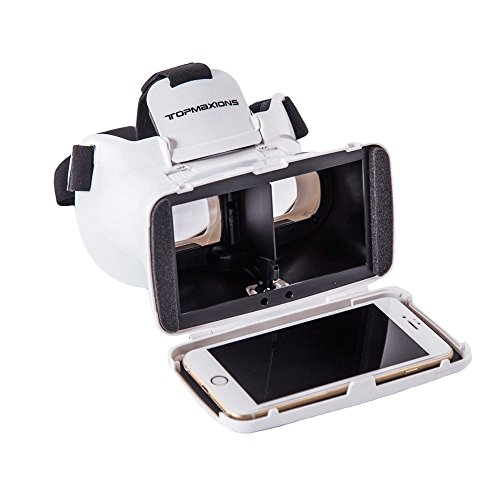 3D VR Headset,Topmaxions 3D Virtual Reality Mobile Phone 3D Movies for Apple Phone 6s/6 plus/6/5s/5c/5 Samsung s5/s6/note4/note5 and Other 3.5″-6.0″ Cellphones post thumbnail