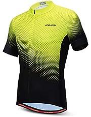 Camisa de ciclismo masculina de manga curta para ciclismo