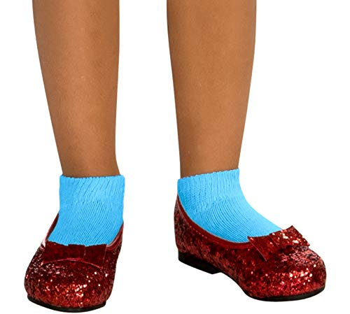Toddler Ruby Red Slippers (Wizard of Dorothy Deluxe Ruby Red Costume)