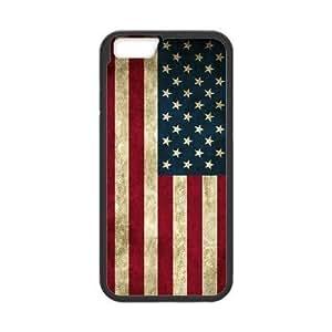 "American Flag The Unique Printing Art Custom Phone Case for Iphone6 Plus 5.5"",diy cover case ygtg-774745"