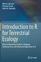 Introduction to R for Terrestrial Ecology Front Cover