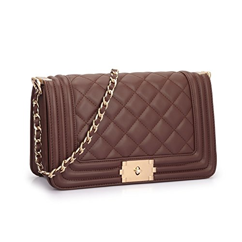 quilted chain bag - 3
