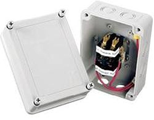 K-RAIN 1522 Pump Start Relay with Pigtails 3 hp at 110/220V 24V Coil - 3 Hp Relay