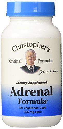 Dr CHRISTOPHERS Nourish Adrenal vegicaps