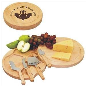 - ANEDesigns Circo Cheese Cutting Board Custom Engraved With Your Text