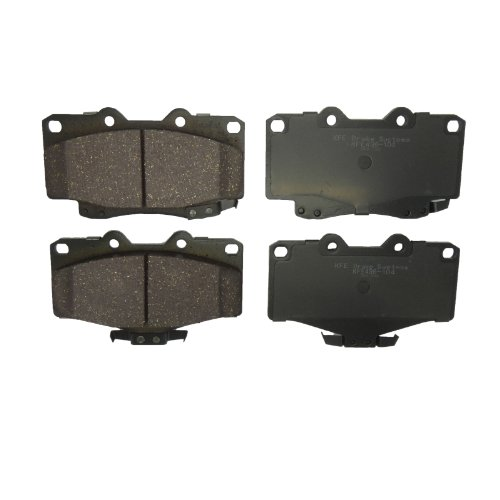 KFE Ultra Quiet Advanced KFE436-104 Premium Ceramic FRONT Brake Pad Set