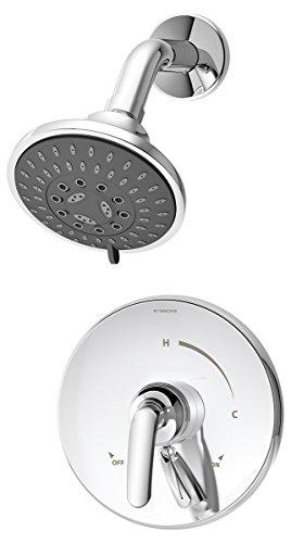 Symmons S-5501-TRM Elm 1- Handle Shower Faucet Trim, Chrome ()