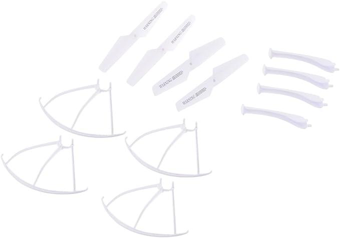 sharprepublic Propeller Landung Sch/ützer Skid Schutzrahmen F/ür SYMA X5SC X5SW