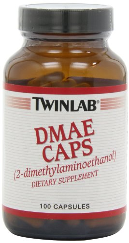 Twinlab DMAE Caps 100mg, 100 Capsules (Pack of 3)