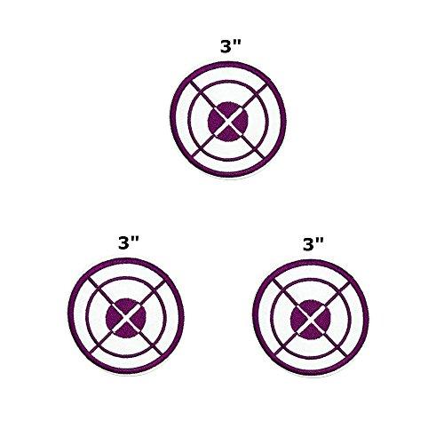 Application Hawkeye Purple/White Target Marvel Comics - 3 Pack - 3