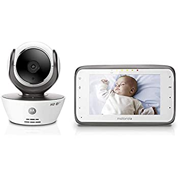 "Amazon.com : Motorola MBP36XL Video Baby Monitor 5"" Color"