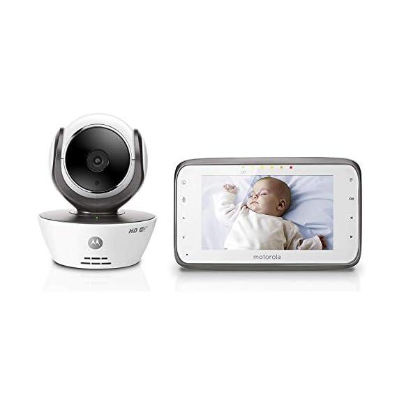 Motorola MBP854 Connect Digital Video Baby Monitor (Multicolor)