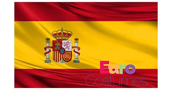 Bandera de España de poliéster grande con ojales de 1, 5 x 3 pies ...