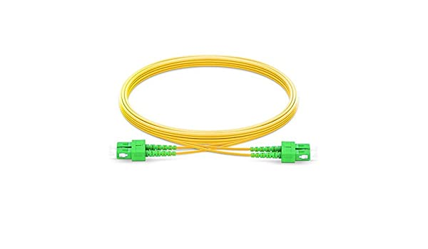 Fiber Optic Cable SC to SC Multimode Duplex 2.0mm//3.0mm Outer Diameter OM1 62.5//125mm Fiber Optic Patch Cord 150m, 2.0mm 0.5M-200M Length Options