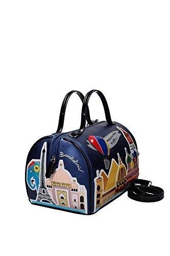 BRACCIALINI TUA Around the World Handtasche blau/schwarz