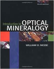 Optical mineralogy nesse