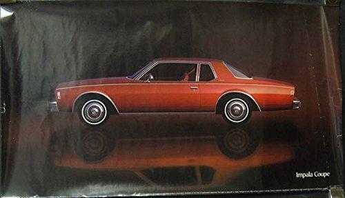 Amazon Com 1978 Chevrolet Impala Showroom Poster