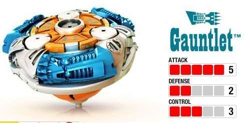 - Magnext Battle Strikers Turbo Tops #29458 Gauntlet