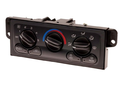 ACDelco 15-72609 GM Original Equipment Heating and Air Conditioning Control Panel with Rear Window Defogger Switch -