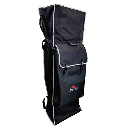 Premier Tents 10x20 Premium Clamshell Rollerbag, Black