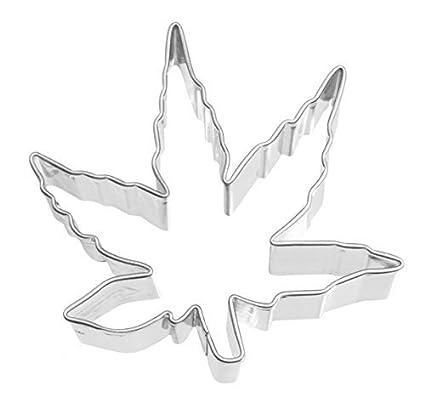 RBV Birkmann Räder Design - molde para galletas, diseño de hoja de cannabis (6