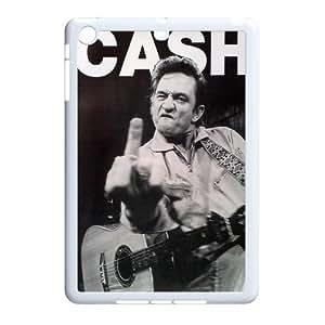 Johnny Cash iPad Mini Durable Hard Back Case, Johnny Cash Personalized Case, iPad Mini Customized Case