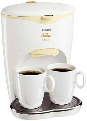 PHILIPS Cafetera Dúo HD7140: Amazon.es: Electrónica