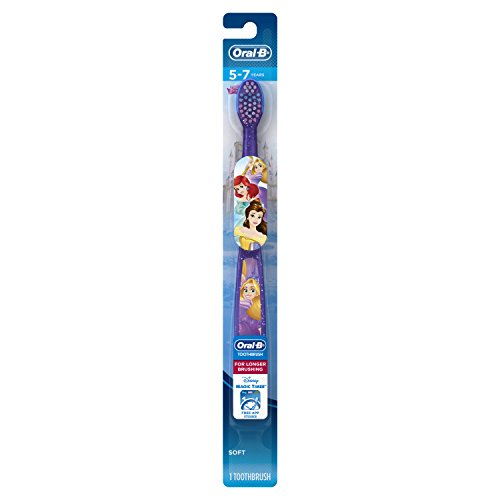 Toothbrush featuring Princess Characters bristles