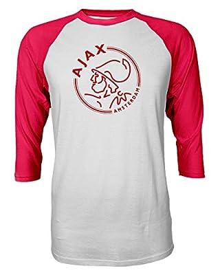 Spark Apparel New Soccer Amsterdam Quarter Sleeve Raglan Tshirt