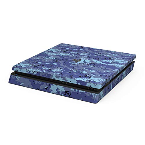 Digital Sky Camo Skin Compatible with Sony PlayStation 4 Slim System - Ultra Thin Protective Vinyl Decal Wrap Cover