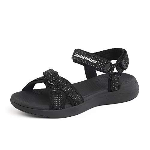 - DREAM PAIRS Women's Athletic Sport Sandals Hiking Sandal Black Size 6 M US QDL19001L