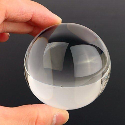 魔法の贈り物の占いのための Queenwind 60mm の透明なアクリルのボールをジャグリング操作